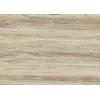 Wood Effect LVT Click Flooring / Vinyl Click Flooring Decoration Material