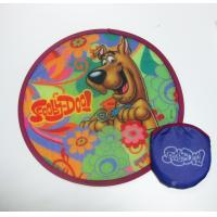 Buy cheap Full Colors Pop up with pouch bag nylon Frisbee product