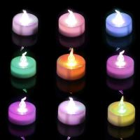 Buy cheap Multi - Color LED Battery Operated Candle Lights For Indoor And Outdoor from wholesalers