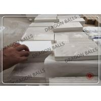Buy cheap Custom 92% 95% Alumina Ceramic Lining High Temperature Bricks For Ball Grinder from wholesalers