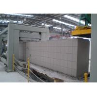 Buy cheap AAC Cutting Platform / Automatic Concrete Block Making Machine / AAC Block Line product