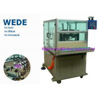 Buy cheap Semi - Auto Stator Winding Machine 2 Stations In - Slot For Power Tool / Vacuum Cleaner / Dryer / Mixer from wholesalers