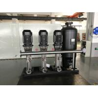 Buy cheap IP40 Water Supply Equipment  , 11kw Water Supply Pump Public Areas Applied from wholesalers