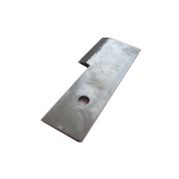 Buy cheap 150J/Cm2 Sugar Industry Bimetallic 63HRC Cane Cutting Knives product