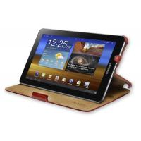 Buy cheap KAZEE Samsung Galaxy Tablet PC 7.7 Slim Leather-Feel Red Cover Case & Stand from wholesalers