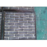 Buy cheap OEM Solid SurfaceFaux Exterior Brick With Rustic Color Enviromentall Friendly from wholesalers