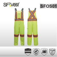 Buy cheap Workmens man adult Overalls Or Coveralls With polyester and cotton reflective tape CSA Z96-09 product