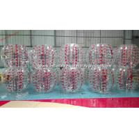 Buy cheap Colorful TPU Inflatable Bubble Ball , Inflatable Body Bumper Ball Soccer from wholesalers