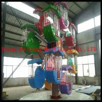 Buy cheap Double Sides10 cabins  Mini Ferris Wheel Children Games for park from wholesalers