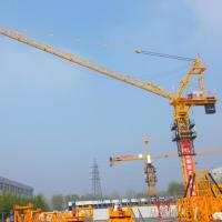 Buy cheap Hongda Tielishi Famouns Brand Luffing Jib Tower Cranes popular sold in South Korea from wholesalers