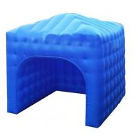 Buy cheap cube inflatable exhibition booth stand tent for advertising from wholesalers