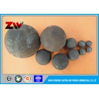 Buy cheap Hot rolling forged & Casting grinding media steel balls for gold mines from wholesalers