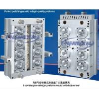Buy cheap 8 cavity jar preform mould with hot runner from wholesalers