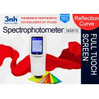 Buy cheap NS810 plush denim brocade division Color Matching Spectrophotometer 3nh colour test device from wholesalers