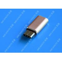Buy cheap Gray Camera Type C Micro USB , SATA Sync Charge OTG Micro USB 23mm x 10mm x 5mm from wholesalers