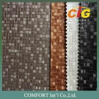 Buy cheap Decoration PVC Artificial Leather With New Designs For Sofa And Chairs from wholesalers