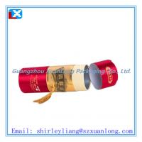 Buy cheap Paper cardboard tube tea box from wholesalers