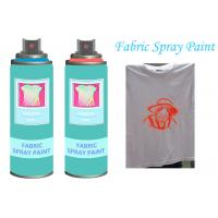 Buy cheap Fast Dry  Non - toxic Aerosol Fabric Spray Paint For Textile  Soft  Pliable from wholesalers