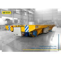 Buy cheap Custom Battery Transfer Cart Electric Railway Platform for Building Site from wholesalers