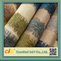 Buy cheap Polyester Jacquard Sofa Chenille Upholstery Fabric / home Textile Fabric product