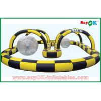 Buy cheap Big Inflatable Sports Games Soccer Football Goal Gate Filed For Advertising from wholesalers