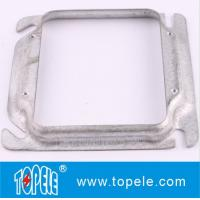 Buy cheap TOPELE 4\SQUARE 1/2\ RAISED DEVICE COVER FOR 2 GANG OUTLET BOX from wholesalers