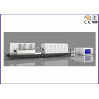 Buy cheap Carbon Steel Oxygen Index Apparatus / Halogenated Gases Testing Equipment from wholesalers