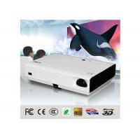 Buy cheap 60W 3D DLP LED Projector For Home Theater , Commercial 3D Led Projector from wholesalers