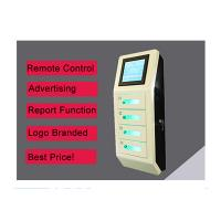 Buy cheap Cell Phone Wall Mounted Charging Station With Digital Lockers , Free Charge from wholesalers