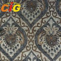 Buy cheap 100% Polyester Chenille Upholstery Fabric 145cm Width For Sofa Seat Cover from wholesalers