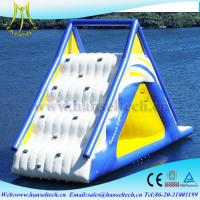 Buy cheap Hansel new design summer inflatables grade slides for kid game from wholesalers