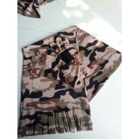 Buy cheap camo fleece gloves and scarf from wholesalers