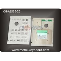 26 Keys Ruggedized Industrial Metal Keyboard , dustproof keyboard