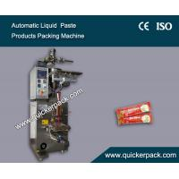 Buy cheap Fully Automatic Three Sides Seal Bag Liquid Tomato Ketchup Packaging Machine from wholesalers