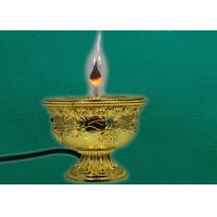 Buy cheap Zinc die casting ghee lamps for buddhist ornaments from wholesalers