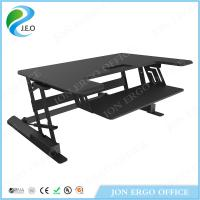 Buy cheap Gas Lifting Height Adjustable Sit Stand Desk from wholesalers