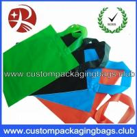 Buy cheap Soft Flex loop Die Cut Handle Plastic Bags / custom printed carrier bags OEM from wholesalers