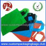 Buy cheap Soft Flex loop Die Cut Handle Plastic Bags / custom printed carrier bags OEM from wholesalers