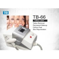 Buy cheap Portable Q Switched Nd Yag Laser Tattoo Removal Machine for Spa / Hospital from wholesalers