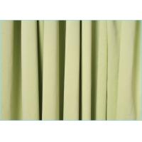 Buy cheap Needle Three Technology Polyester Microfiber Fabric / Durable Plain Dyed Micro Knit Fabric from wholesalers