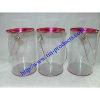 Buy cheap Clear Paint Can / PVC Bucket/ Clear Pails/ PVC &PET Tin Can Buckets from Goldentinbox.com from wholesalers