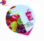 Buy cheap Eco-Friendly Colorful Printing Yogurt Cup Aluminium Foil Lid, plastic cup sealing lids from wholesalers