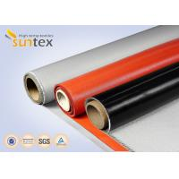 Buy cheap Silicone Coated Fabric For High Temperature Insulation Or Protection Blanket, Pads, Splash Curtains from wholesalers
