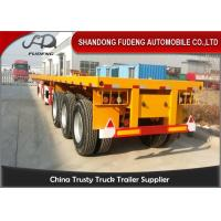 Buy cheap Containers Transportation Heavy Duty Trailer12500 * 2500 * 1560 mm Size from wholesalers