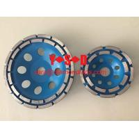 Buy cheap 7 Diamond Tools Double Row Diamond Cup Wheels for Handhold Grinders from wholesalers