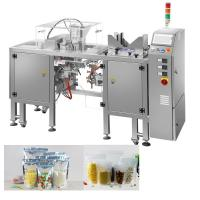 Buy cheap Snacks Packing Machine / Doypack Pouch Packing Machine For Pet Foods / Seafoods from wholesalers