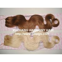 Buy cheap machine weft hair from wholesalers