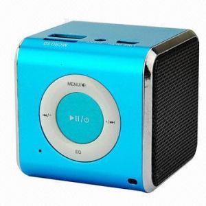 Buy cheap Mini MP3 Player Speaker, FM/TF/USB/3.5mm Audio product