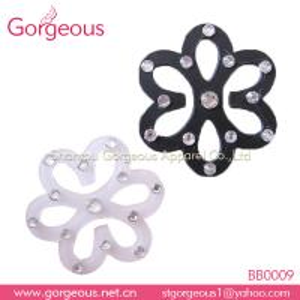 China Plastic rhinestone bra strap clip holder on sale