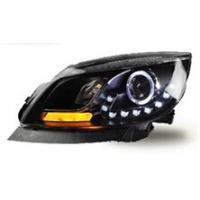 Buy cheap Buick Excelle Bi Xenon Modified Car Headlight Head Lamp Of Angel Eyes / Modified Car Headlights from wholesalers